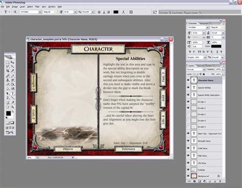 characters cards template character and adventure card templates coming soon