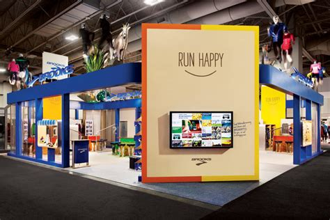 Two Story Farmhouse brooks sports the playful exhibit for brooks sports by