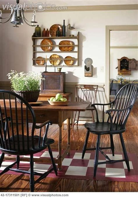 364 best primitive colonial dining rooms images on