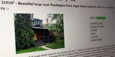 Housing Scams On Craigslist by Craigslist Scam Targets Homeowners And Renters Real