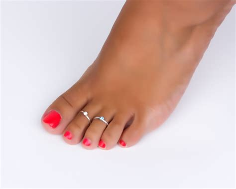 toe ring foot jewelry sterling silver toe ring