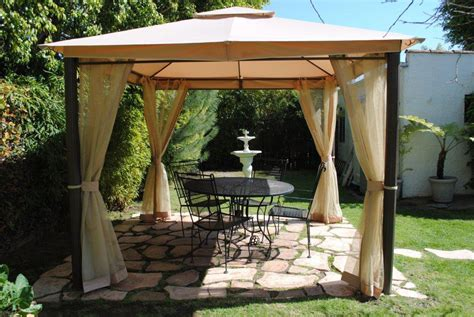 patio gazebo home depot home depot southern patio gaz 434769 replacement canopy