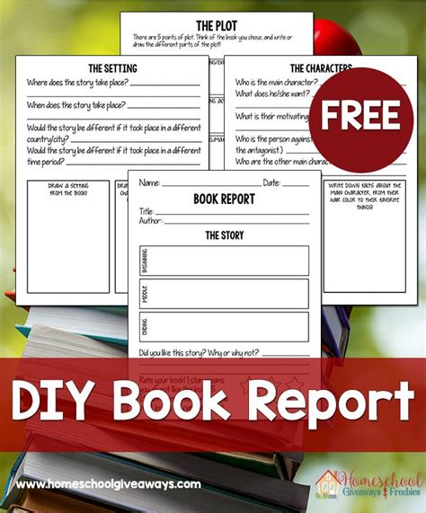Bloom Book Report by Free Diy Book Report Kit 4 99 Value