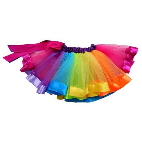 colorful tutu new baby lovely colorful tutu skirt rainbow