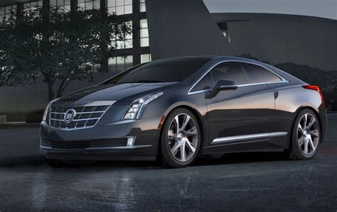 2014 cadillac cars 2014 cadillac elr 75k electric coupe gets five figure