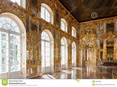 Bishop S Castle Great interior of catherine palace editorial photo image 33658206