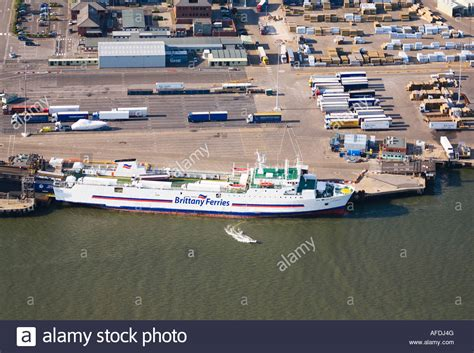 boat transport poole dorset brittany ferries coutances at poole docks passenger and