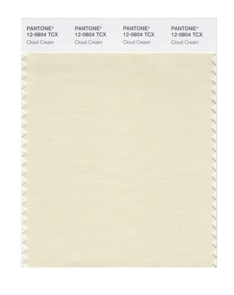 Color Crema Pantone by Buy Pantone Smart Swatch 12 0804 Cloud