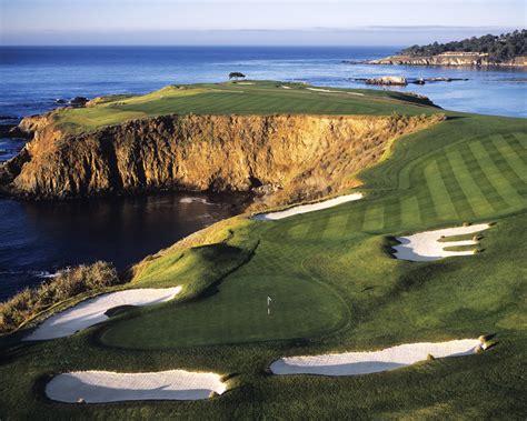 pebble beach pebble beach golf links hole 8 joann dost golf editions