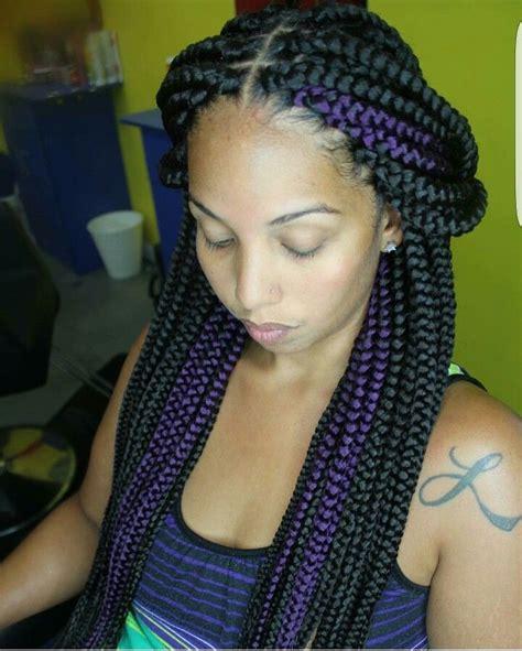 kiki braides style in nigeria pretty box braids to see more follow kiki slim