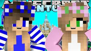 Minecraft little kelly adventures meeting my sister little carly