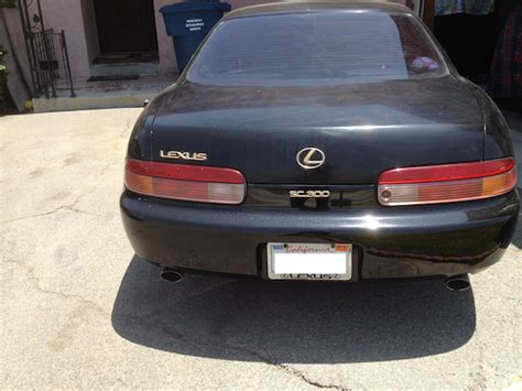 High Mileage Lexus by Ca Fs 1995 Sc300 Factory 5 Speed High Mileage