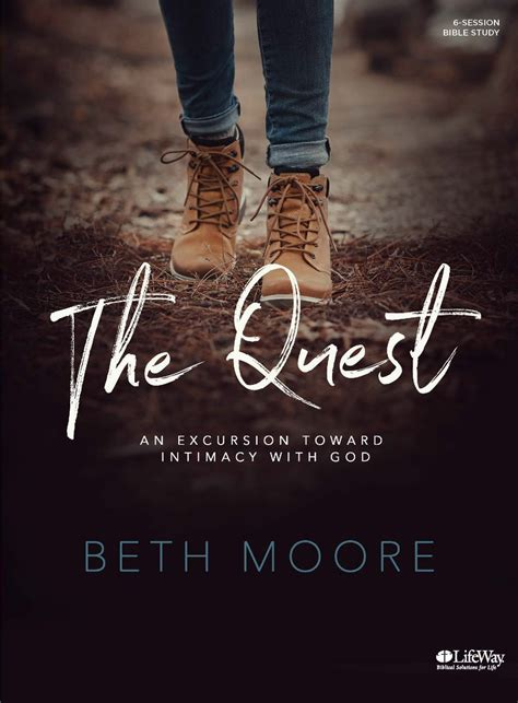 the quest study journal for daring to the of god books the quest of beth pulpit pen