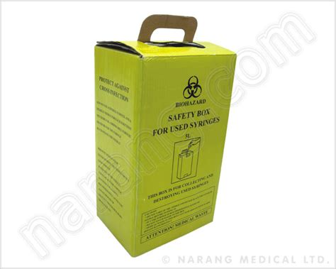 Who Uses A Safety L by Waste Management Safety Box For Syringes Safety Box