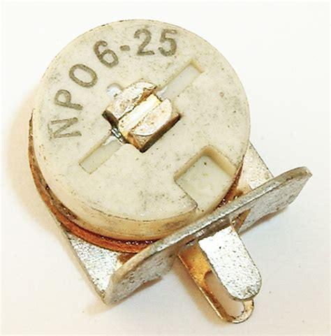 10 pf surface mount ceramic trimmer capacitor capacitors