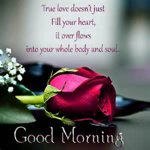 Best inspirational good morning quotes for my love it over flows