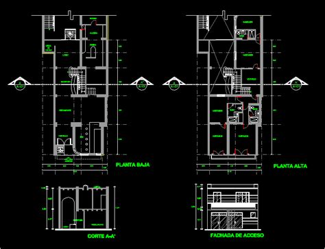 Kitchen Block Cad