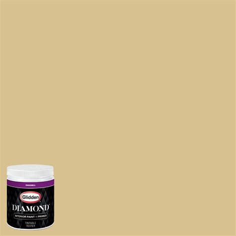 glidden premium 8 oz bb 044d houston astros sand eggshell interior paint with primer