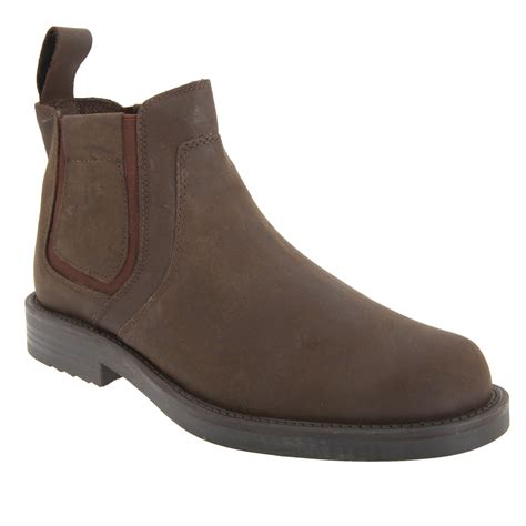 roamers mens gusset softie leather dealer boots ebay