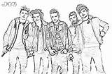 10 Printable One Direction Coloring Pages 6 - J-14