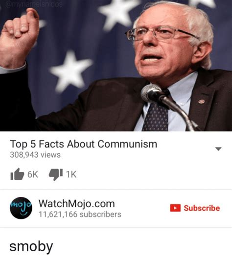 Watchmojo Memes - melsnic top 5 facts about communism 308943 views watchmojocom mojo 11621166 subscribers