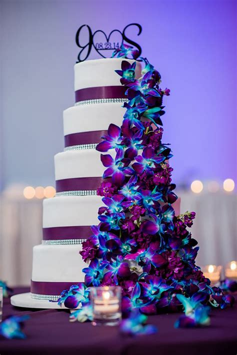 the color purple themes blue and purple colour scheme wedding ideas by colour chwv