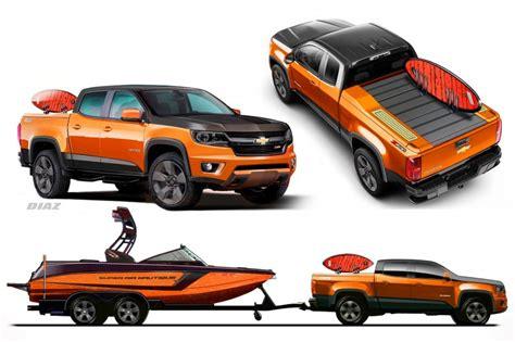 nautique boats colorado 2015 chevrolet colorado nautique is wakeboarding dream truck