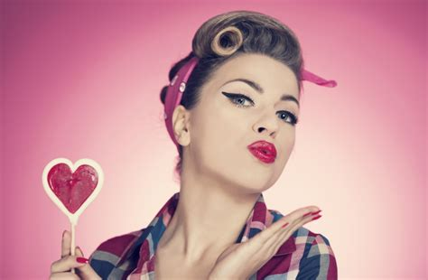 pin up back to the 50s get the pin up look fatal