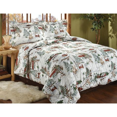 winter comforters winter lodge mini comforter set 209127 comforters at