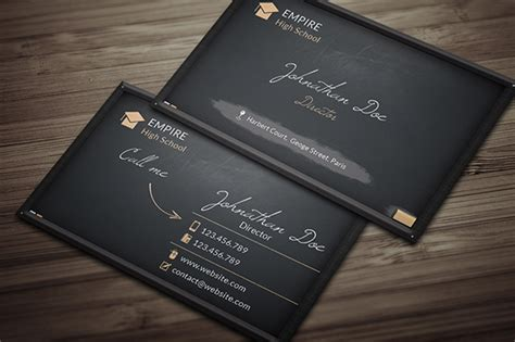 black business card template word 32 black business cards free printable psd eps word