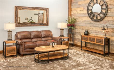 rustic industrial living room rustic industrial sofa table modern rustic sofa table