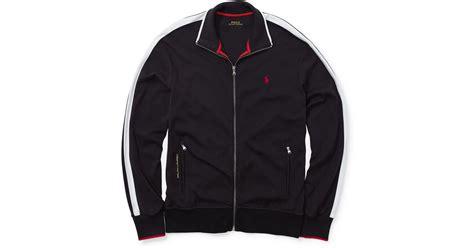 Rompi Vest Zipper Polos 12 polo ralph interlock zip jacket in black for lyst