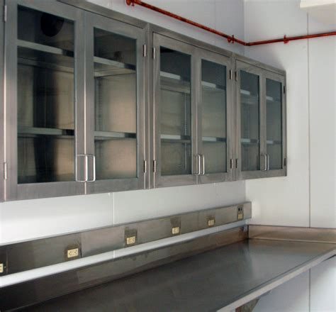 Stainless Steel Wall Cabinets Kitchen   Home Designs