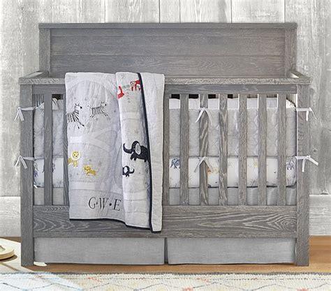 convertible crib bedding 4 in 1 convertible crib pottery barn