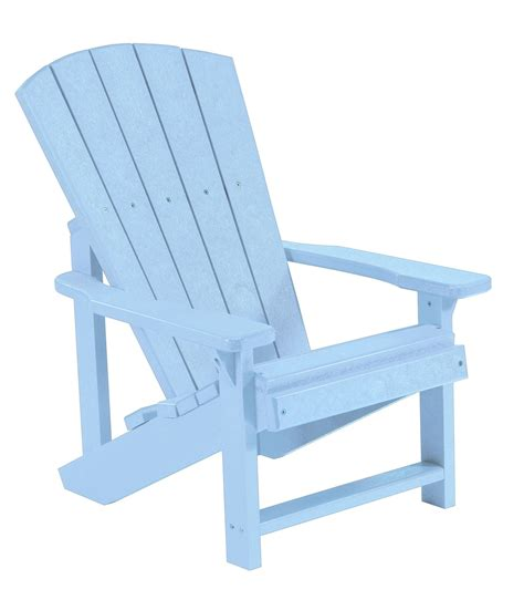 Blue Adirondack Chair generations sky blue adirondack chair from cr plastic