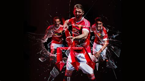 adidas kit wallpaper manchester united fc 2015 16 adidas home kit 4k wallpapers
