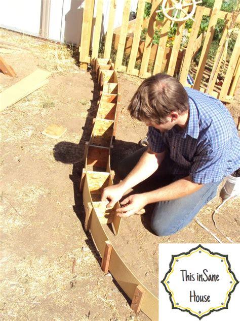 Landscape Edging Machine Rental This House Diy Concrete Edger Or Retaining Curb