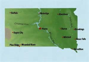South Dakota State Map by South Dakota State Maps Interactive South Dakota State