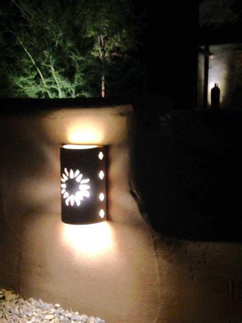 Southwestern Outdoor Lighting Wall Sconce New Sun Southwestern Lighting Outdoor Wall