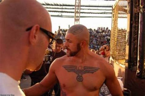 nazi tattoo on chest movie melvin costa mma fighter page tapology