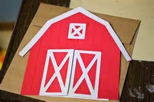 Barn Invitation Template by Craft Time Barnyard Birthday Invitation