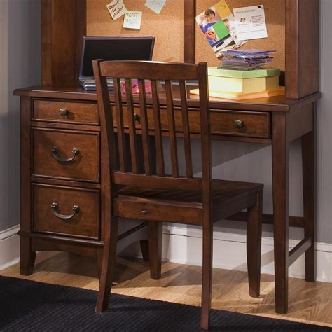 students desk single pedestal student desk by liberty furniture wolf