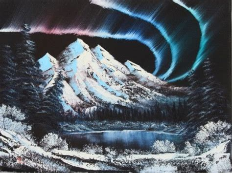 bob ross underwater painting bob ross 174 northern lights bob ross and kevin hill