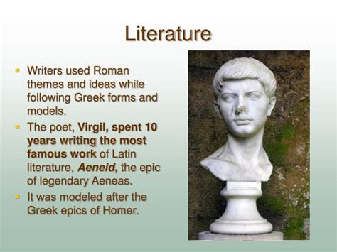 themes in greek literature ppt the legacy of greco roman civilization powerpoint