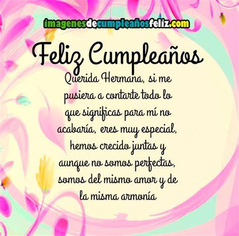imagenes de feliz cumpleaños para la mejor hermana querida hermana imagenes de cumplea 241 os feliz
