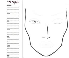 makeup charts template 19 best images about chart blank on qvc