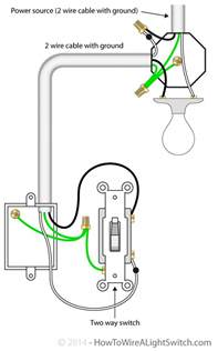 wiring a 2 way light switch diagram get free image about wiring diagram