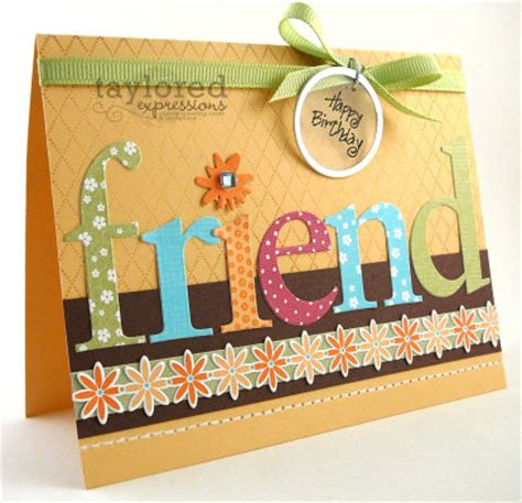 how to make a friendship card birthday cards for friends images