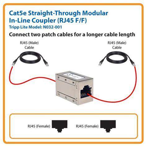 rj45 inline coupler wiring diagram free wiring