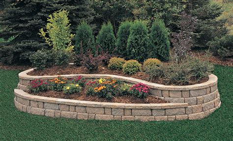 stone flower beds beautiful raised flower bed stone border 16 onechitecture